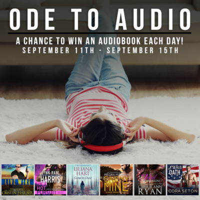 Audiobook Giveaways All Week
